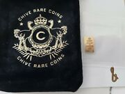 The Chive- 1/100 .9999 Gold Barandnbsp Letter And For The Chive Collection