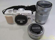 Authentic Olympus Mirrorless Single-lens E-pl7 Double Zoom Kit