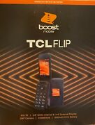 Tcl Flip Boost Mobile 4g Lte Prepaid Phone - Brand New