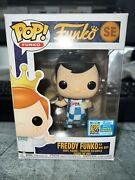 Freddy Funko Big Boy Pop Blue Sdcc Exclusive Only 24 Pieces Made Super Rare 🍔🍔