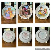 Vintage Avon Collectible Motherandrsquos Day Plates - Complete Set From 1981-2001