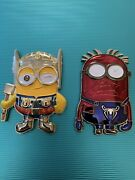 Navy Usn Chiefs Pride Challenge Coins Thor Minion And Spider-man Minion 2 Coin Lot