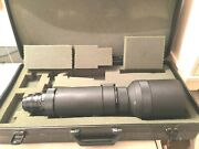 Nice Nikon Nikkor-pc Auto 15.6 F=600mm 611469 Made In Japan With Case