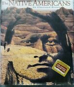Pre Owned- The Native Americans Book- An Illustrated History