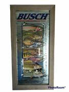 Rare Anheuser Busch Beer Wildlife Mirror Fish Excellent 2001. Fast Shipping