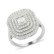 Cluster Ring Rhapsody White Diamond 950 Platinum Size 7 Ct 3 Jewelry For Her