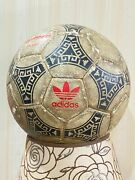 Vintage Antique Football From Year 1986- Soccer Ball.