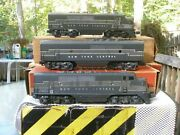 Lionel Postwar 2185w Nyc F-3 Freight Set Magne Traction Boxed