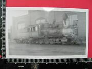 Colorado And Southern Railroad 2-8-0 Ng Locomotive 69 Orig Photo Denver Roundhouse