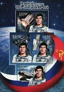 Space Station Mir Stamp Russia Sergey Krikalev Astronaut S/s Mnh 2431-2434