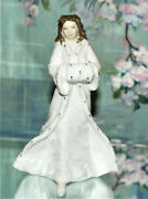 Royal Doulton Christmas Day Hn 3488 Vintage Lady Figurines Hand Made Mintandnbsp Cond.