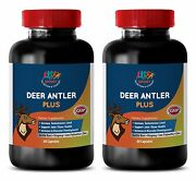 Best Age Male Sexual Pills - Deer Antler Plus 550mg - Ginseng Extract 2b