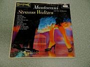 Rare Strauss Waltzes By Mantovani And His Orchestra Ps118 Stereo London Label