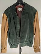 Vintage Early 1990and039s Scully Menand039s Suede Leather Jacket Size 42 - Unworn No Wear