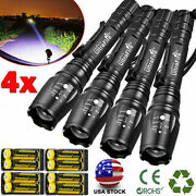 Zoomable Ultrafire Tactical 350000lm 5modes Led Focus Flashlight 18650 Torch