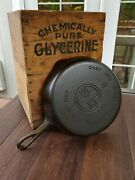 Griswold 8 Cast Iron Skillet With Large Block Logo Restored