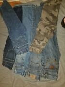 Lot Of 6 Pairs Of Boys Pants Jeans Size 10 Youth Khakis Wrangler Cody James