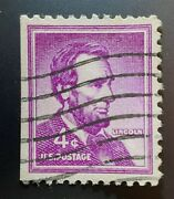 4¢ Abraham Lincoln United States Postage Stamp