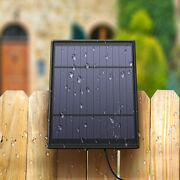 Solar Power Charging Panel Outdoor Weatherproof For Blink Xt Xt 2 Camera System
