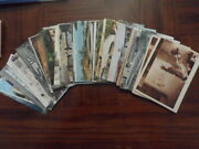 Maroc , Marocco - Lot Of 57 Different Very Old Rppc Photos Postcards