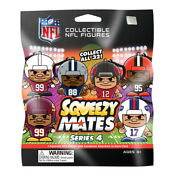 Nfl Series 4 2021 Squeezymates Series 6 Unopened Packages With Gravity Box