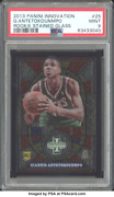 Giannis Antetokounmpo 2013 Panini Innovation Rookie Stained Glass Psa Mint 9 25