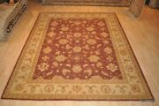 Great Deal On 9and039x12and039 Mahal Design Vegetable Dye Handmade Rug Gold Green Beige