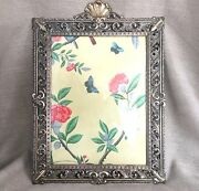Extra Large Vintage Picture Frame Ornate Gold Brass Italian Rococo Decoration