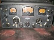 Hallicrafters Sx-28 Receiver In Working Condition W/matching Speaker
