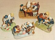 Norman Rockwell Limited Edition Figurines 1953 Old Timers Series