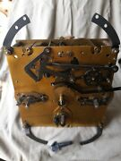 Enfield Clock Co Longcase Clock Movement Westminster Chimes +hour Strike