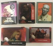Dawn Of The Dead 2018 Fright Rags Trading Card Collection 96 Card Set
