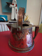 Antique Provincial Large French Copper Watering Can