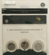 2010 America The Beautiful Grand Canyon National Park Mint Issue 3-coin Set
