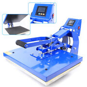 Heat Press Machine 16x20 Auto Open Clamshell T-shirt Print For Clothes Bags More