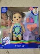 Baby Alive Potty Dance Interactive Brunette New And Sealed