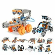 Stem Solar Robot Kit Science Kits For Kids Age 8-12 Gifts For 7 8 9 23-in-2