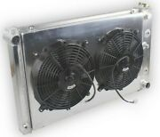 3-row Radiator+fans For 78 79 83-88 Chevy Monte Carlo Ss Sport Ls 3.3l 3.8l 5.0l