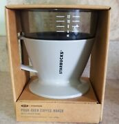 Oxo+starbucks Nib Single Serve Pour-over Coffee Maker With Water Tank Unopened