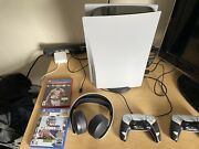 Sony Ps5 Console Disc Version Blu-ray
