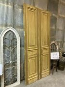 Thick Molding Antique French Double Doors European Doors Tall Pair B44