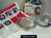Les Schwab 1535 Snow Cable Tire Chains 195/60-16 185/70-15 195/65-15 And 14 15 16