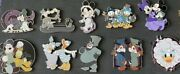 Haunted Mansion Mystery Pins Full Set Including Mickey Minnie Chip Dale Goofy