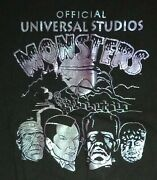 Official Vintage Universal Studios Monsters Single Stitched, Xl-shirt...