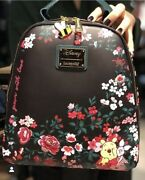 Loungefly Winnie The Pooh Floral Mini Backpack Nwt
