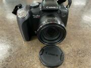 Canon Powershot Sx10is Image Stabilizer Ultrasonic Zoom Lens 0.5-100mm 10mp