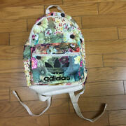 Used Adidas Farm Company Floral Backpack Total Bag 2015