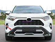Front+rear Bumper Board Guard Protector Fit For Toyota Rav4 2020 2021