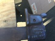 Vintage Hartford Clamp Co. 5an 30andrdquo Opening 1 1/2andrdquo X 1/4andrdquo Bar 11/16 Bolt