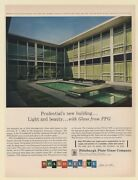 1961 Prudential Insurance Co Building Linwood Nj Ppg Glass Print Ad